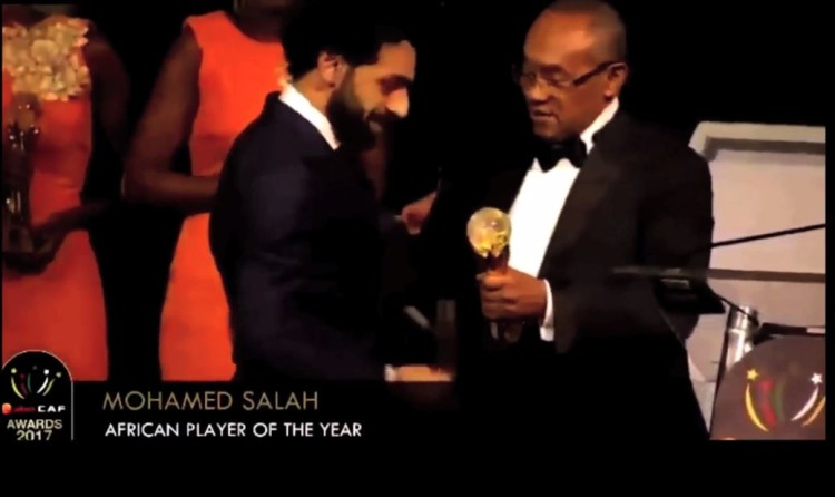 CAF Awards Salah Fx
